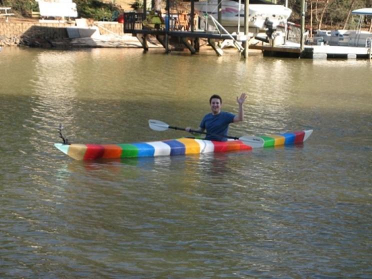 World's first 3D printed kayak sets sail