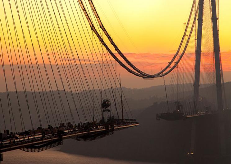 3rd Bosphorus Bridge: World's Widest