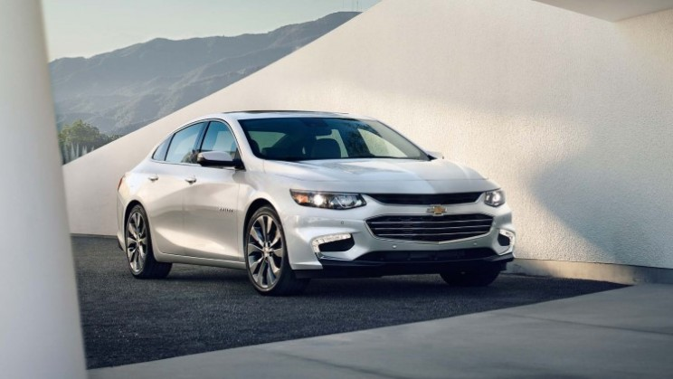 2016 Chevrolet Malibu designed with Teen Driver technology