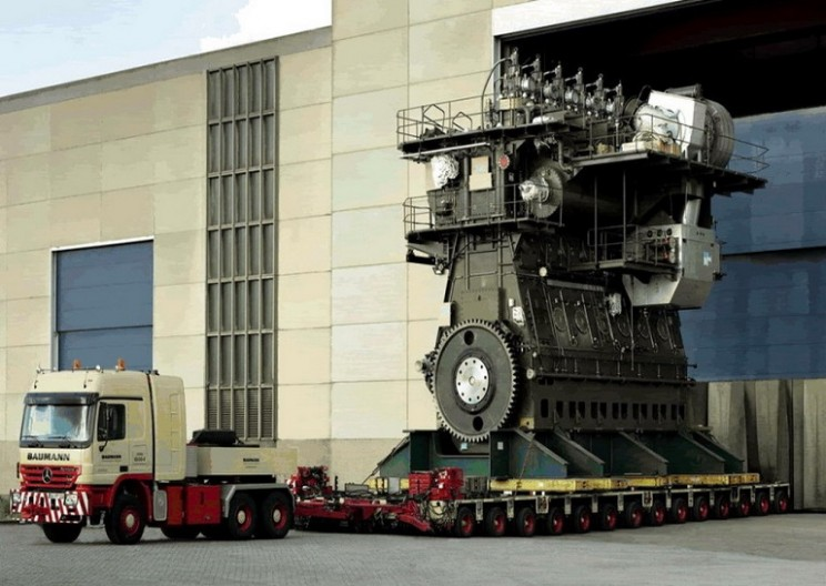 World's Largest Engine has 109,000 HP