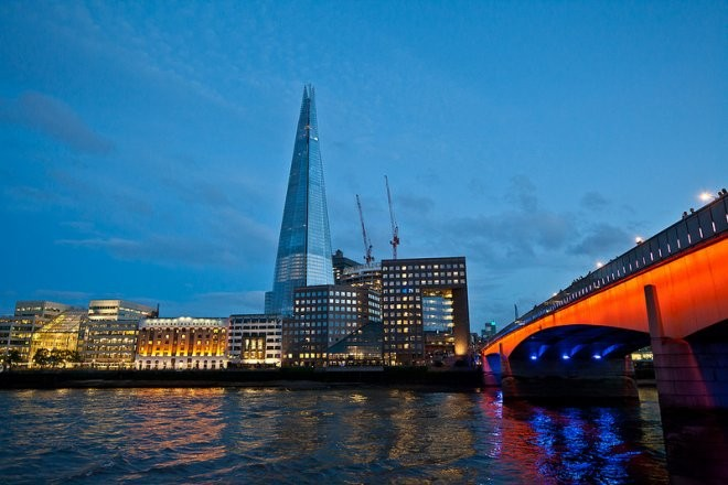 "The Vertical City Called ""The Shard"""