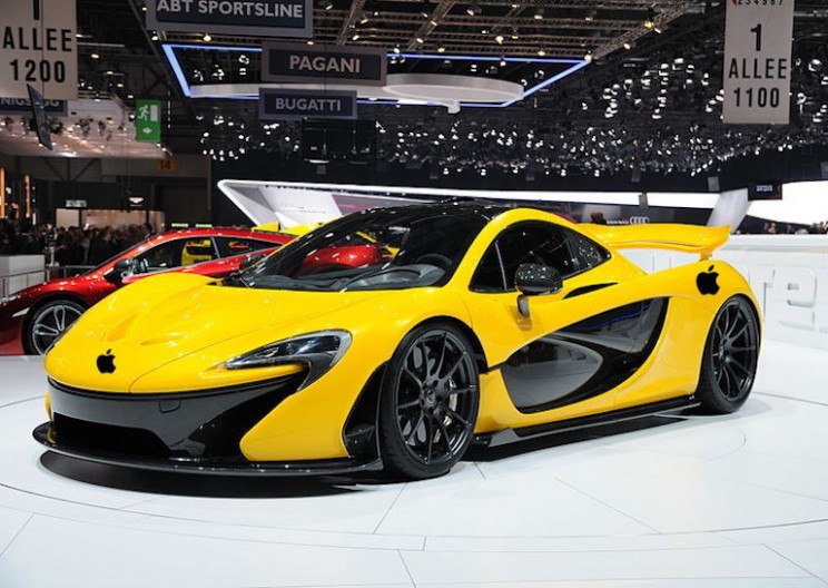 Apple Seeking to Aquire Luxury Car Manufacturer McLaren