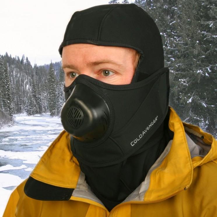 The Subzero Warm Breath Balaclava heats your breath