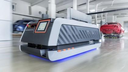 Audi's Smart Factory is A Glimpse Into The Future