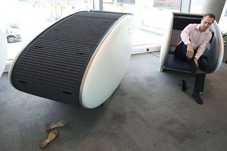 ADAC's Sleeping Pod