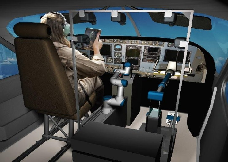 Robot Co-Pilot ALIAS Successfully Flies and Lands a Simulated Boeing 737