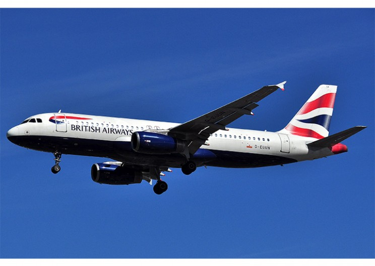 BREAKING: British Airways Airbus A320 Strikes Drone on Landing