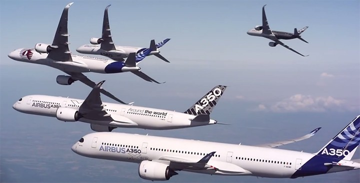 Airbus pull off amazing stunt with $1.5 billion worth of airplanes