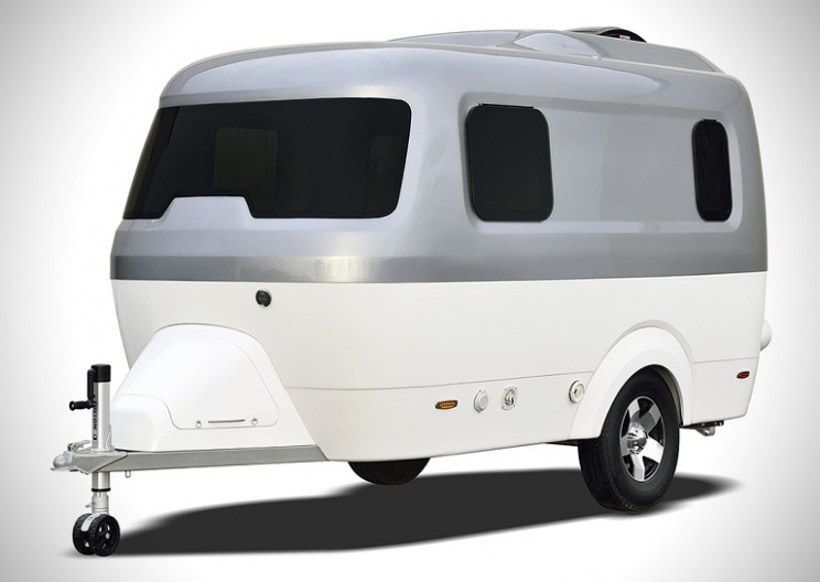 Nest: The Innovative Compact Fibreglass Caravan