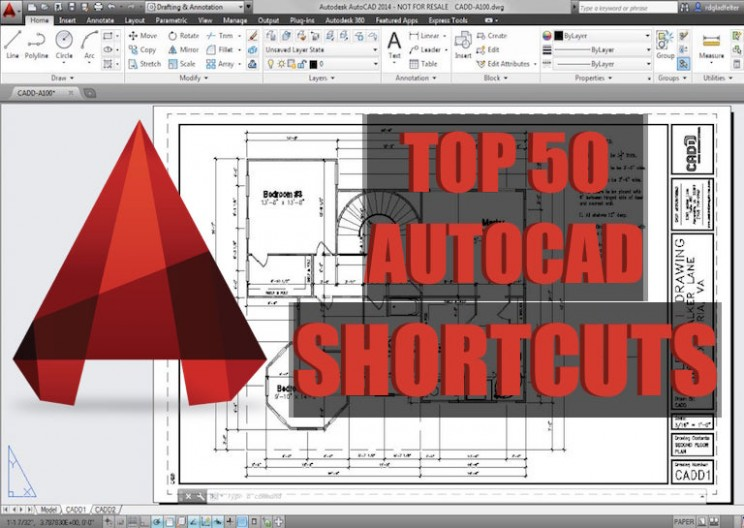 Top 50 AutoCAD Tricks and Shortcuts You Need to Know