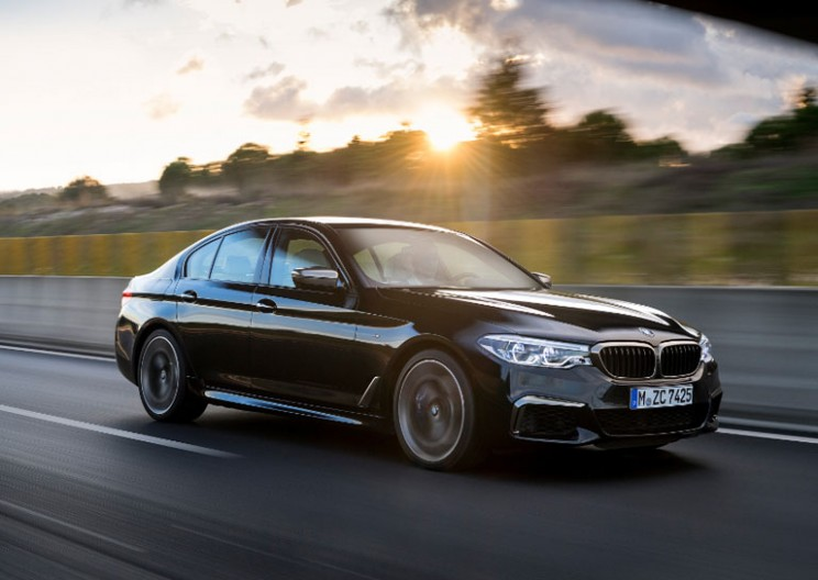 BMW's New 5-Series Sedan Combines Opulence and xDrive Power
