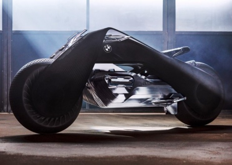 BMW Debuts Motorcycle of Tomorrow with Motorrad Vision 100