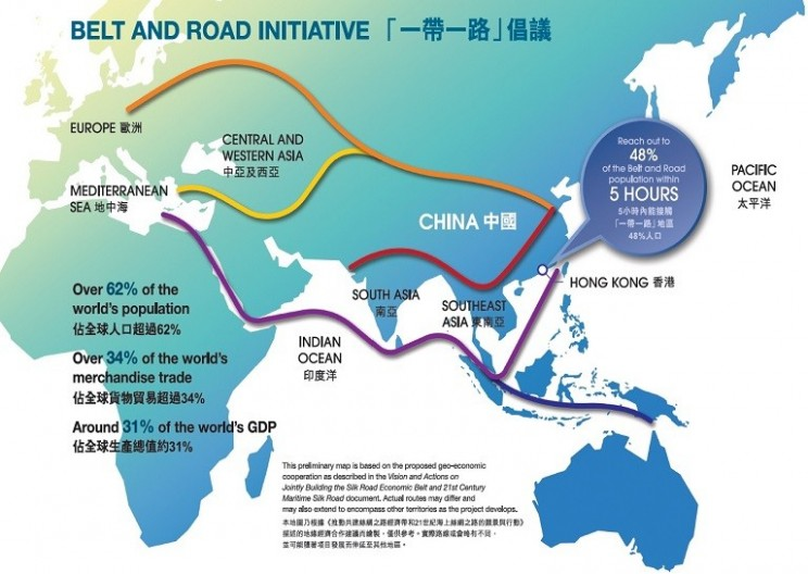 China Is Funding A $900 Billion Modern Silk Road Trading Route
