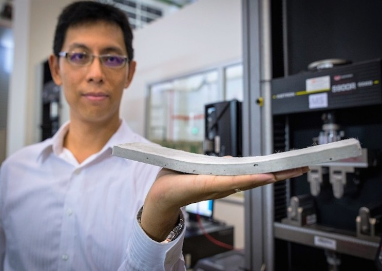 New Bendable Concrete Seeks to be Stronger and Durable