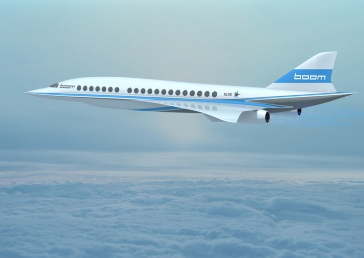 Supersonic Jet Faster than the Concorde Under Construction
