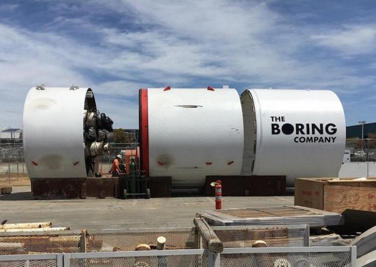Elon Musk Names Boring Company's First Machine Something Nobody Expected