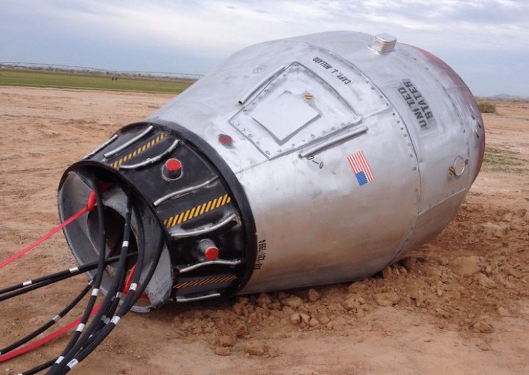 Abandoned 'Space Capsule' Causes Stir Near Casa Grande