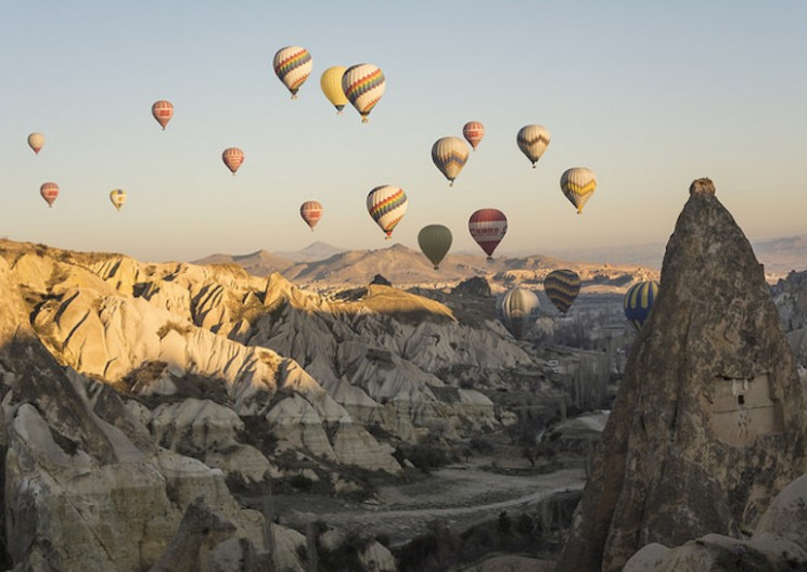 The Ancient Underground City of Cappadocia Is Home to Natural Warehouses