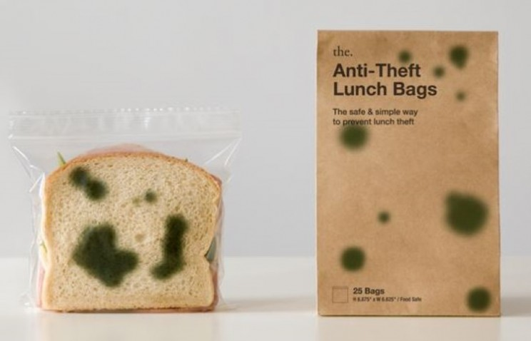 Stop lunch thieves with the Anti-Theft Lunch Bags