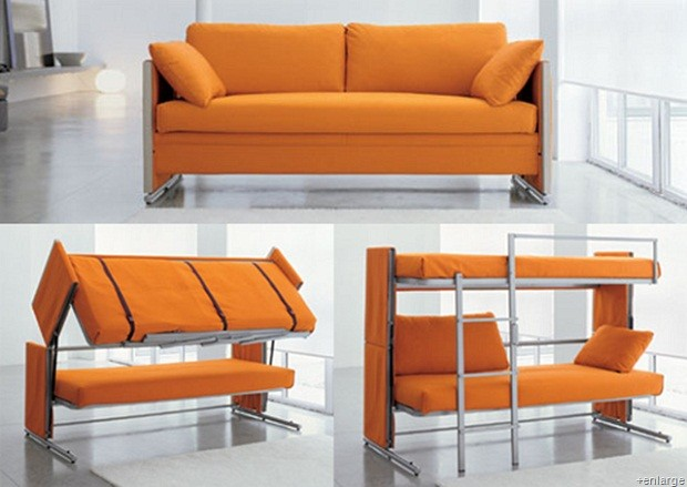 Convertible Futon Bunk Bed