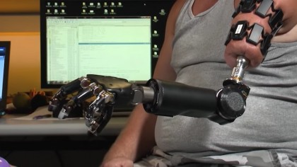 DARPA's New Robotic Arm is Straight Out of Terminator