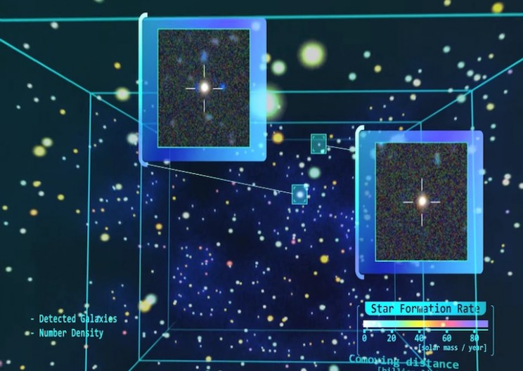 Deepest 3-D Map of the Universe Ever Encompasses 13.4 Billion Years