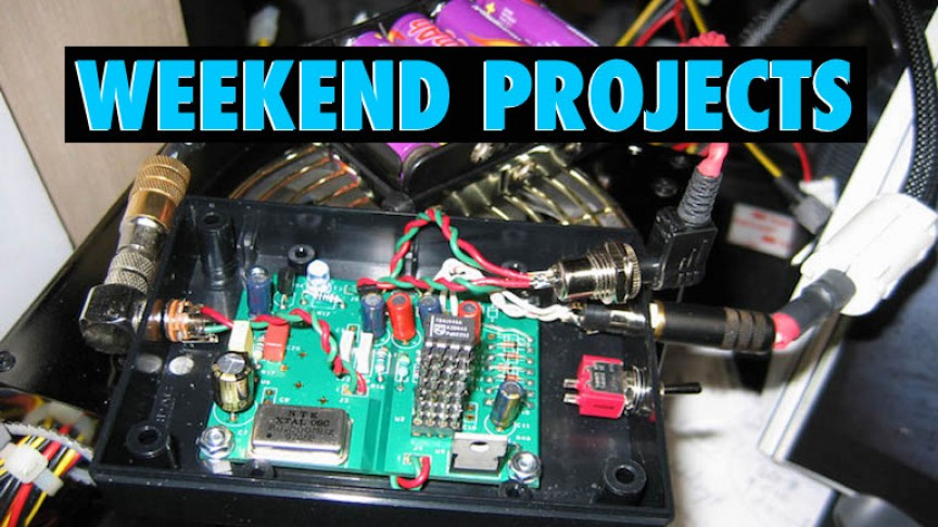 Top 13 Weekend Projects For Engineers