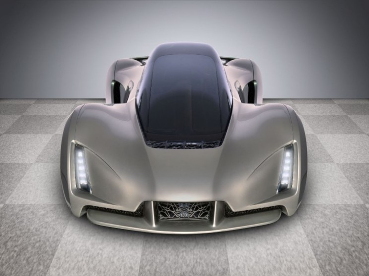 Blade is world's first 3D printed supercar and it's green