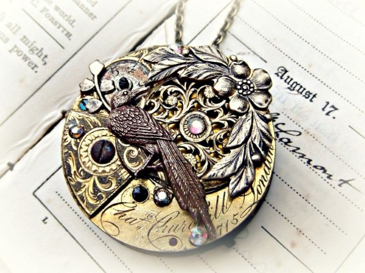 Mother and Daughter Team create unique steampunk jewelry