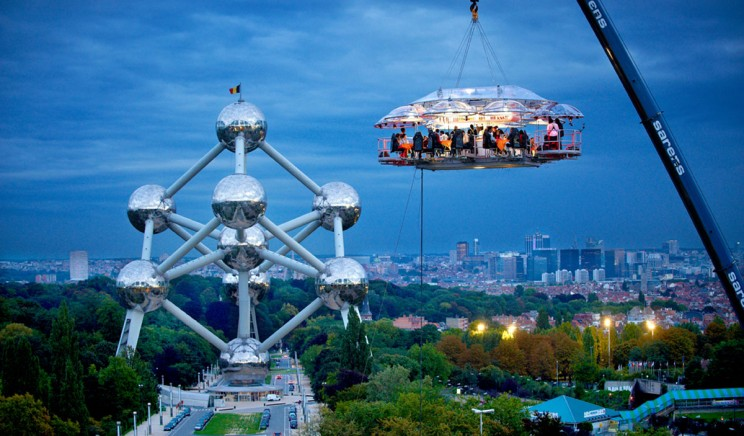 Dinner in The Sky - Something Different than Your Usual Restaurant