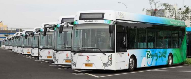 OLEV Bus - Innovative Electric Vehicle for Public Transportation