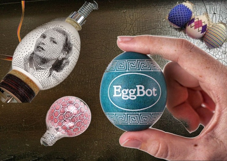 Innovative 3D Round Object Printer: The Eggbot