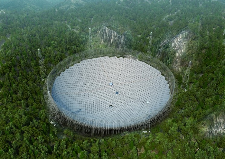 The World's Largest Radio Telescope sets to Open in China