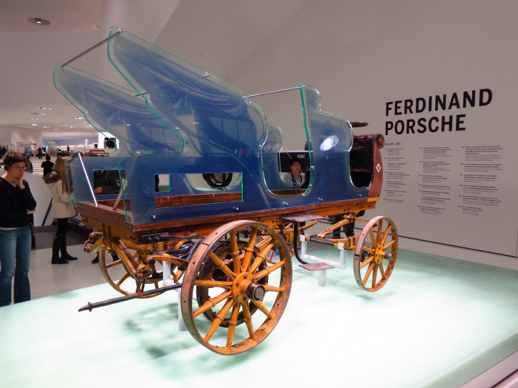 Porsche Made Its First Electric Car Before First World War