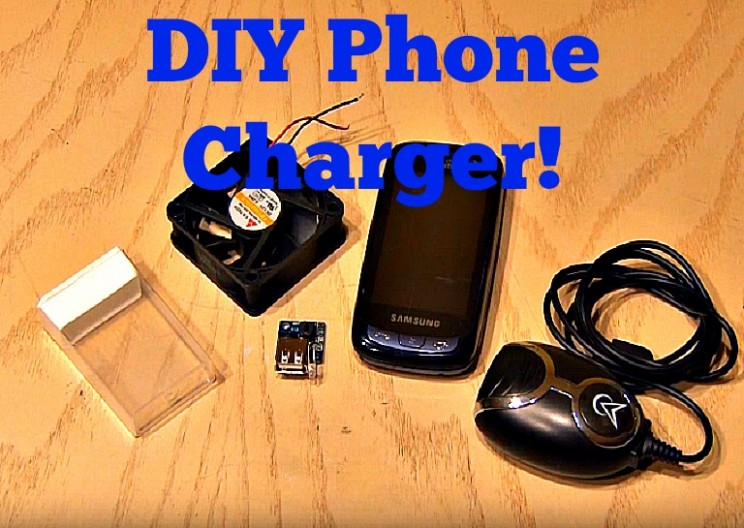 Charge your Cell Phone- from a Fan!