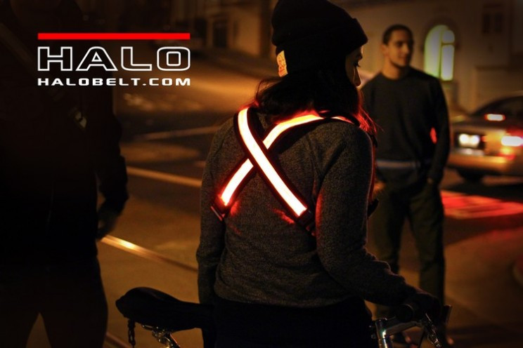 TRON-like Wearable Tech Halo Belt Keeps You Safe at Night