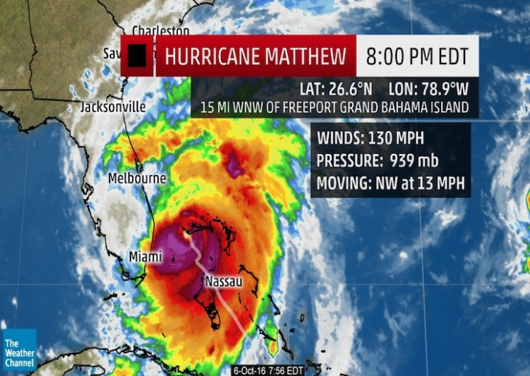 Hammer of Nature: the Catastrophic Hurricane Matthew