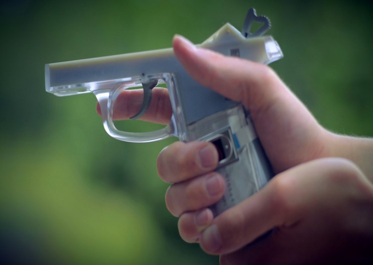 High School Student Invented a Smart Gun Only Fire with the Right Fingerprint