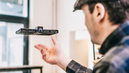 AI Powered Drone Will Follow You Around and Take Selfies