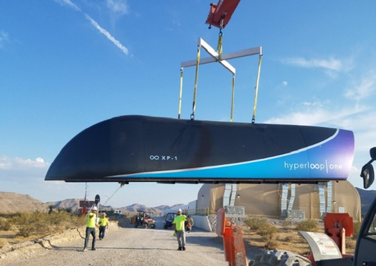 Hyperloop One Successfully Completes Its First Full-System Test