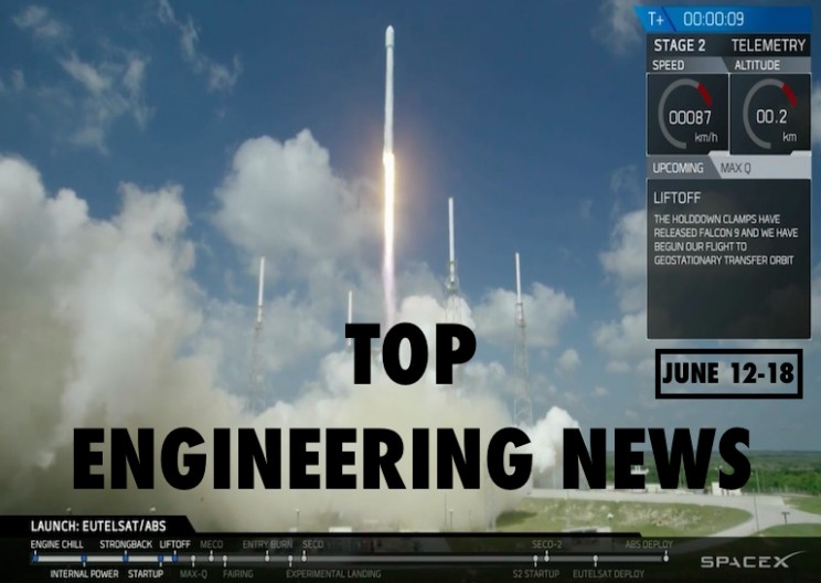 This Week in Interesting Engineering News: June 12-18