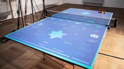 Interactive Ping Pong Table Teaches You How to Improve