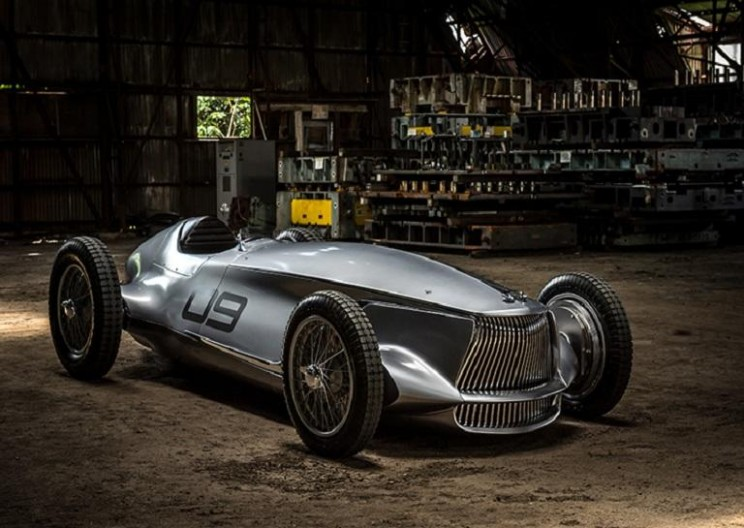 This Stunning All-Electric Concept Car Was Inspired by 1940s Open Wheel Racers