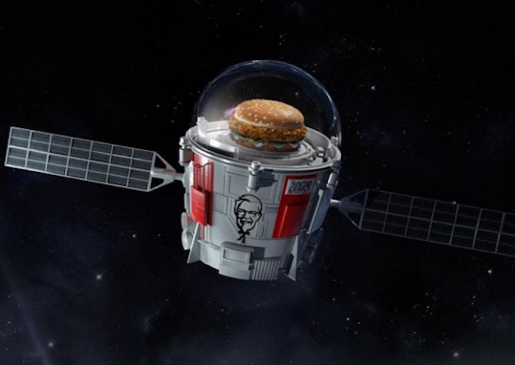 KFC Is Launching a Chicken Sandwich to the Edge of Space