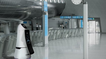 LG's Airport Robots Will Begin Assisting Travelers in Korea's Largest Airport
