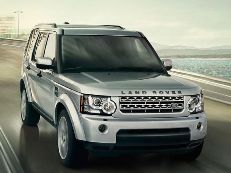 Land Rover Discovery Vision Concept: HUD, Laser terrain scanner, laser headlamps