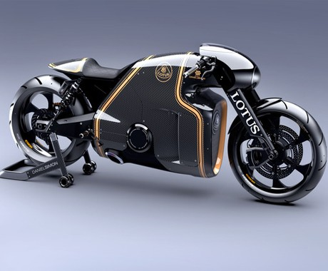 Lotus C-01- Unleash Their First Motorbike - The Tron-Like C-01