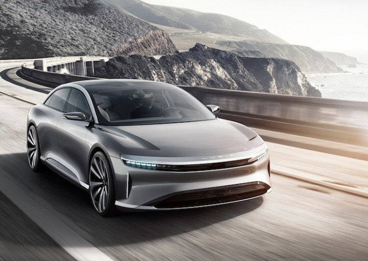Lucid Air: All-Electric Zero Emissions Car with Amazing Range