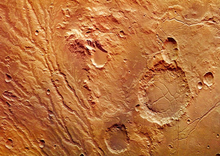 Scientists Discover Evidence of Mega Tsunamis on Mars