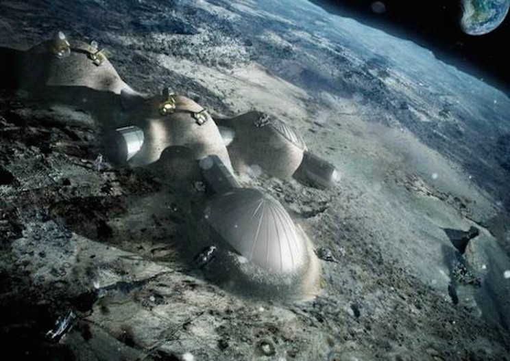 The European Space Agency is Building a Moon Village by 2030